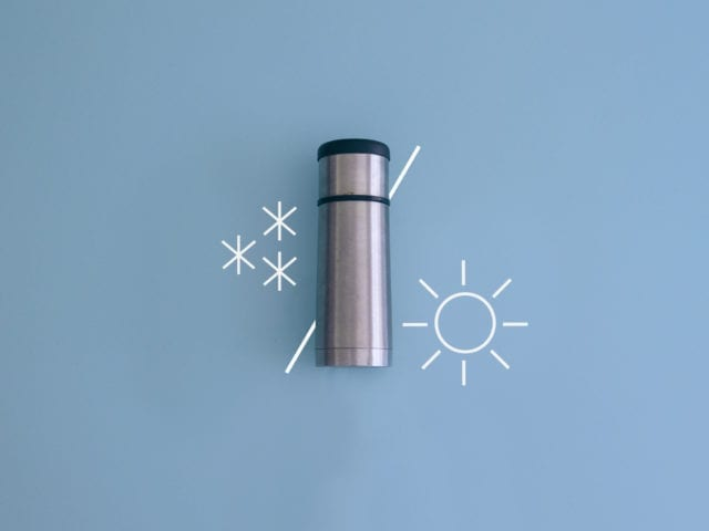 Do you want to live in a thermos flask?